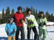 Family skiing fun at Crested Butte Mountain Resort